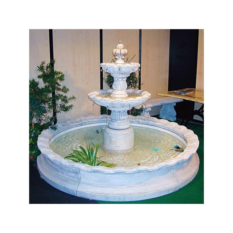 Fontana Chioggia- fontane da giardino funzionanti in pietra ricomposta