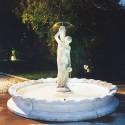 Fontana Napoli- fontane da giardino funzionanti in graniglia di marmo di Carrara