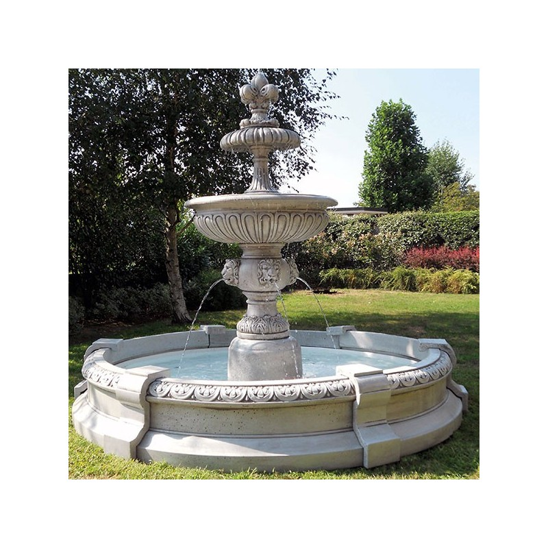 Fontane da giardino mod perugia produzione e vendita - Fontane in marmo da giardino ...
