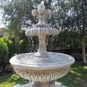 Fontana Perugia - fontane da giardino funzionanti in graniglia di marmo di Carrara