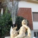 Fontana Monterosso- fontane da giardino funzionanti in graniglia di marmo di Carrara