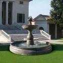 Fontana Firenze - fontane da giardino funzionanti in graniglia di marmo di Carrara