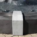 Fontana Milano - fontane da giardino funzionanti in graniglia di marmo di Carrara