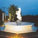 Fontana Dorothea (piccola) - fontane da giardino funzionanti in graniglia di marmo di Carrara