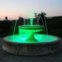 Fontana Riccione - fontane da giardino funzionanti in graniglia di marmo di Carrara 100% Made in Italy