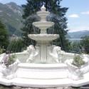 Fontana Marsiglia - fontane da giardino funzionanti in graniglia di marmo di Carrara