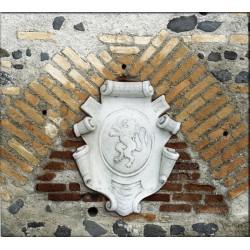 Stemma con Leone - arredo da giardino 100% made in Italy