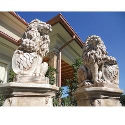 Coppia leoni con scudo ver.2