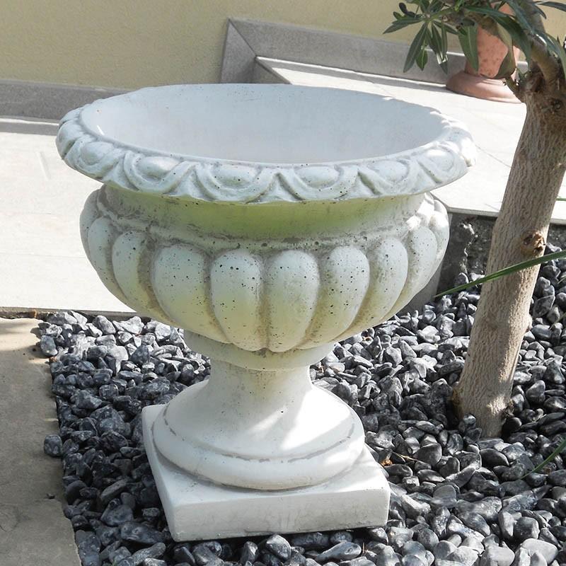 Vaso Campanula (Piccolo)- arredo da giardino in pietra ricomposta