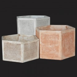 Hexagonal Vase (medium)