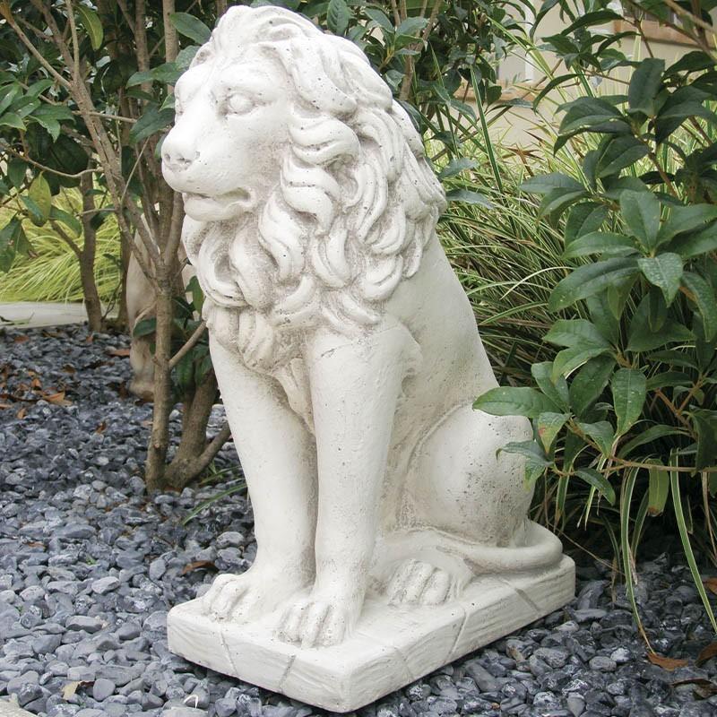 Statua da giardino Leone Dritto