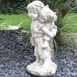 Statua da giardino Mod. Putti a Cavalluccio