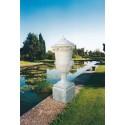 Anfora Italia- arredo da giardino in graniglia di marmo di carrara