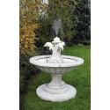 Fontana Nizza - fontana funzionante in pietra ricomposta 100% Made in Italy
