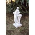 Damigella '900 - statua da giardino in graniglia di marmo
