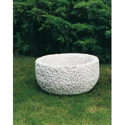 Vaso salarno- arredo da giardino in graniglia di marmo di carrara