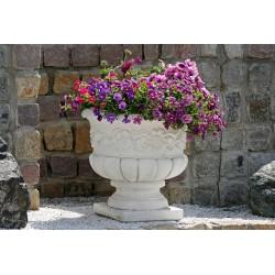 Vaso tea (piccolo)- arredo da giardino in graniglia di marmo di carrara