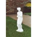 Paolina (piccola) - statua da giardino in graniglia di marmo di Carrara