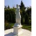 Aurora - arredo da giardino in graniglia di marmo di Carrara