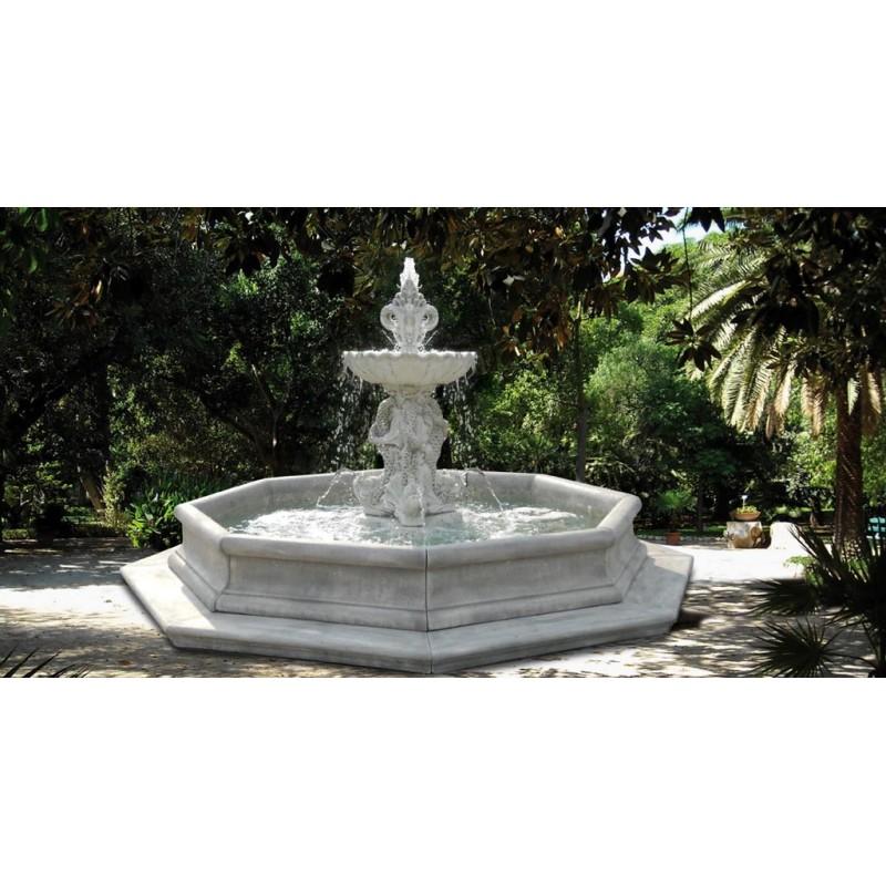 Fontana Varazze- fontane funzionanti in graniglia di marmo di carrara